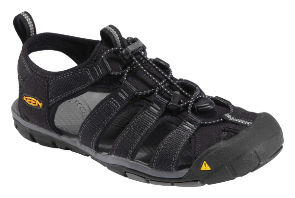 Keen Clearwater CNX M black/gargoyle sandály