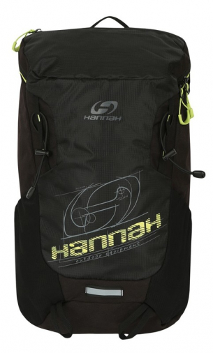 Hannah Raven 28 anthracite/lime green batoh