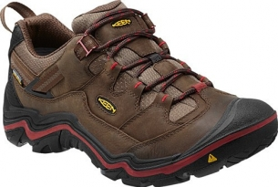 Keen Durand Low Wp M dark earth/red dahlia