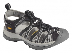 Keen Whisper W black/neutral gray sandály