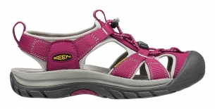 Keen Venice H2 W beet red/neutral grey sandály