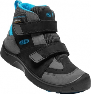Keen Hikeport MID Strap WP JR black/blue jewel