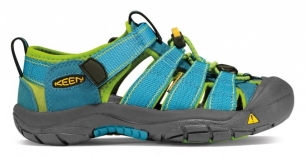 Keen Newport H2 Jr hawaiian blue/green glow
