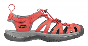 Keen Whisper hot coral/neutral gray